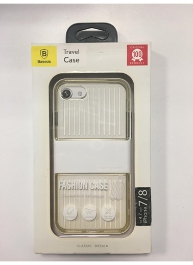 Baseus Travel Case Iphone 78 Ultra Slim Koruyucu Kılıf Beyaz